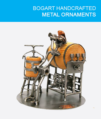 Handcrafted Metal ornaments
