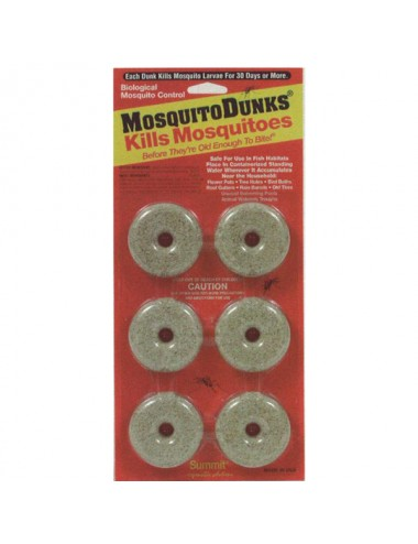 Mosquito Dunks 6-pack