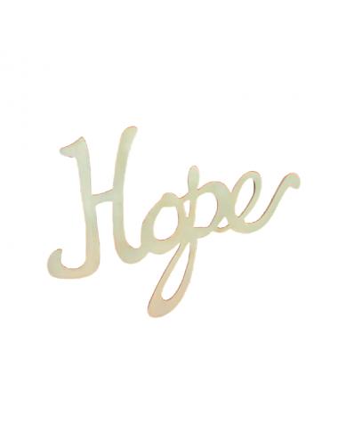Hope - Sign - W21 5/8